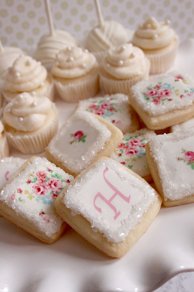 mini tea party cookies