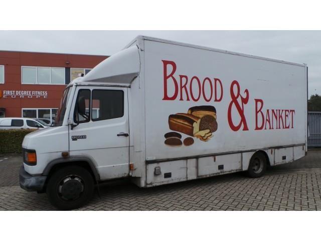 Mercedes-Benz, 809 D Bak+Laadklep 560L 229H 210B, LKW, Koffer in 3991 AP HOUTEN, gebraucht kaufen bei  AutoScout24 Trucks