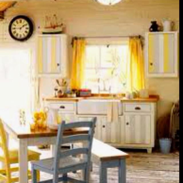 yellow cottage kitchen the yellow cottage pinterest