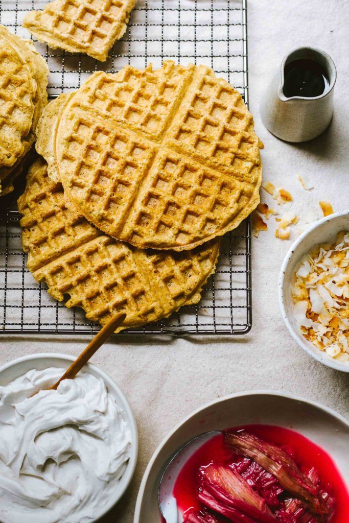 Meyer Lemon Waffles from Yum Universe + A Giveaway
