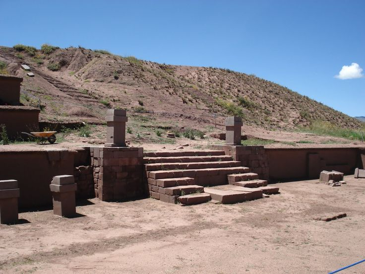 Akapana Pyramid   Pumapunku, Boliva