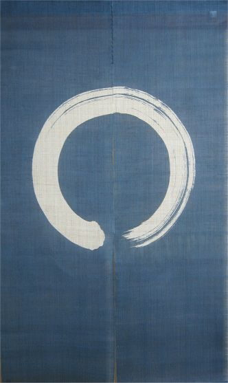 The Enso is a symbol of the cyclical nature of existence (there is no real beginning or end but evolution during each cycle).