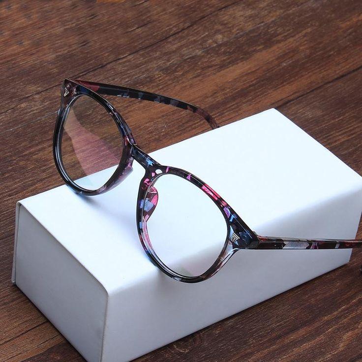 Women's eyeglasses Vintage Rivet Radiation protection green film lens glasses frame for women eyewear 2015 new Autumn arrival