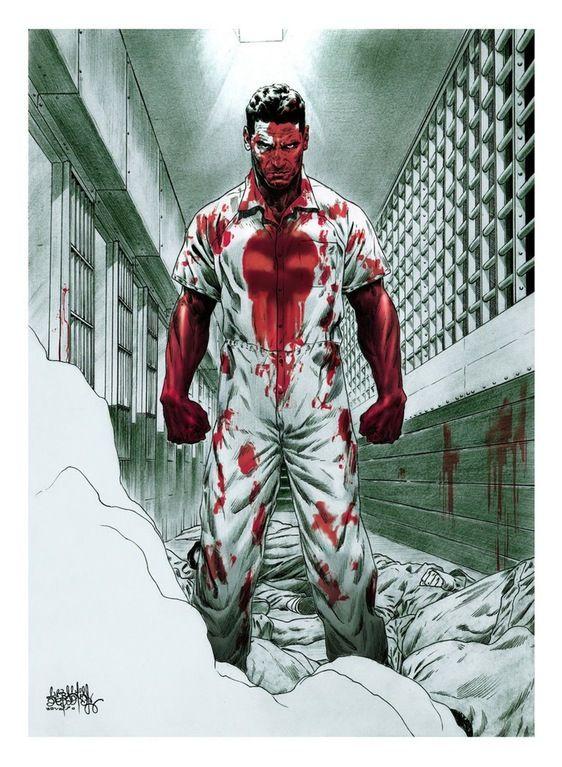 The Punisher by Sebastián Escobar : comicbookart