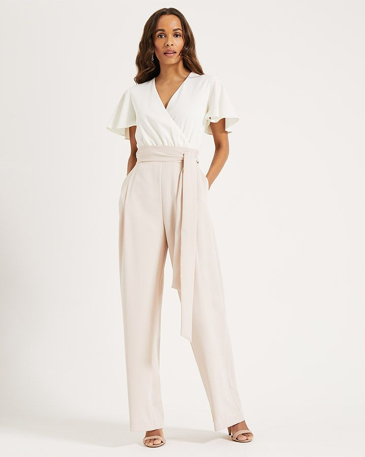 1d671913ba Nerissa Jumpsuit | Cameo/Ivory | Phase Eight | Wedding outfits in ...