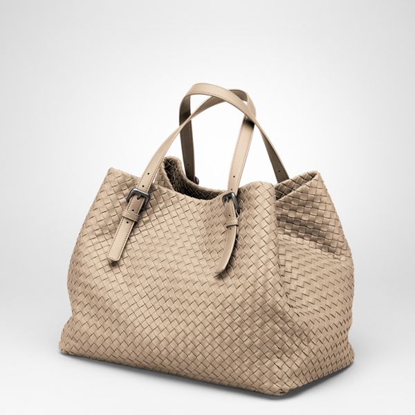 Bottega Veneta Walnut Intrecciato Na Tote Replica Handbags