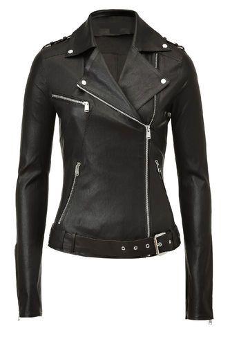Lambskin Ladies Motorcycle Jacket