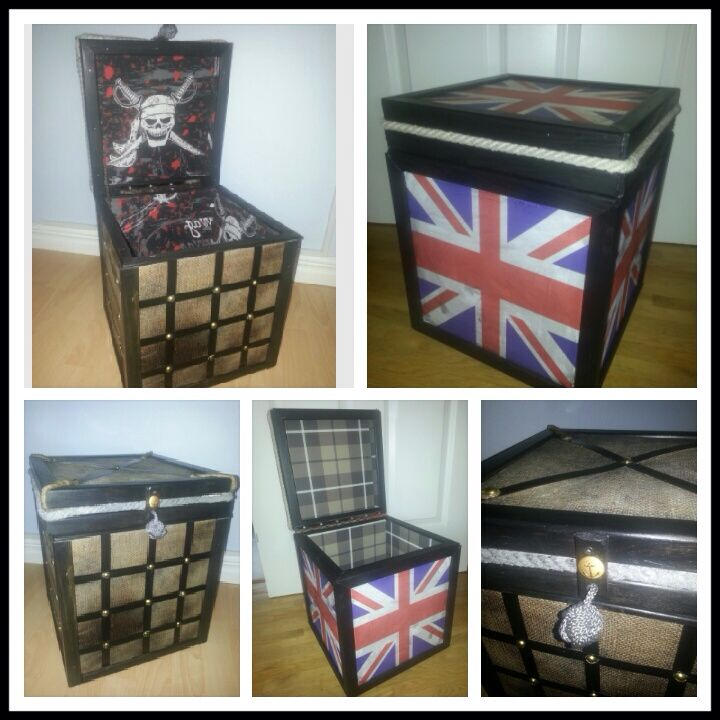 Custom made wooden boxes...