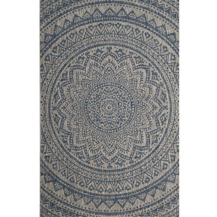 Amedee Blue Teppich Fur Innen Aussen Home Dekor In 2020