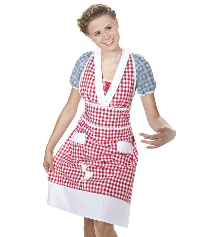 Heimchen Dress - 59,95 http://shop.blutsgeschwister.de/HOMEWEAR/Schnickschnack/heimchen-dress-red-vichy-Stk.html