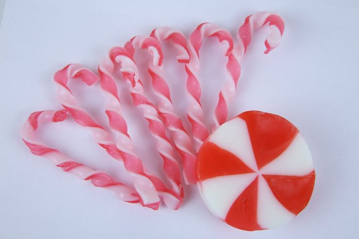 Новогоднее мыло! Рождественский леденец и конфетки candy canes