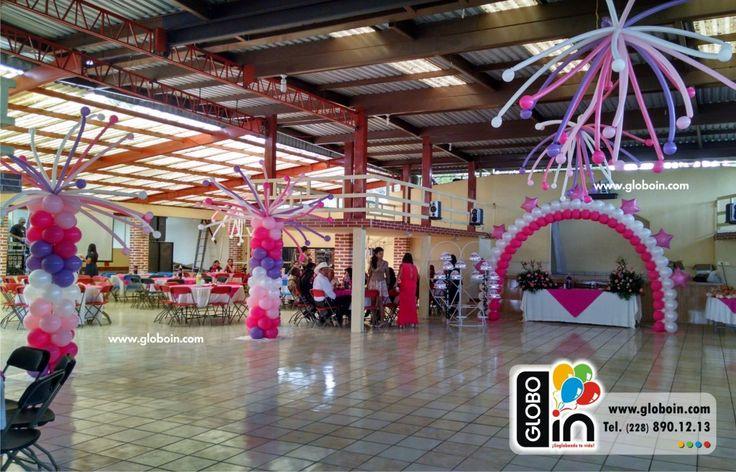 Decoracion con globos para xv a os decoraciones para xv for Ornamentacion de 15 anos