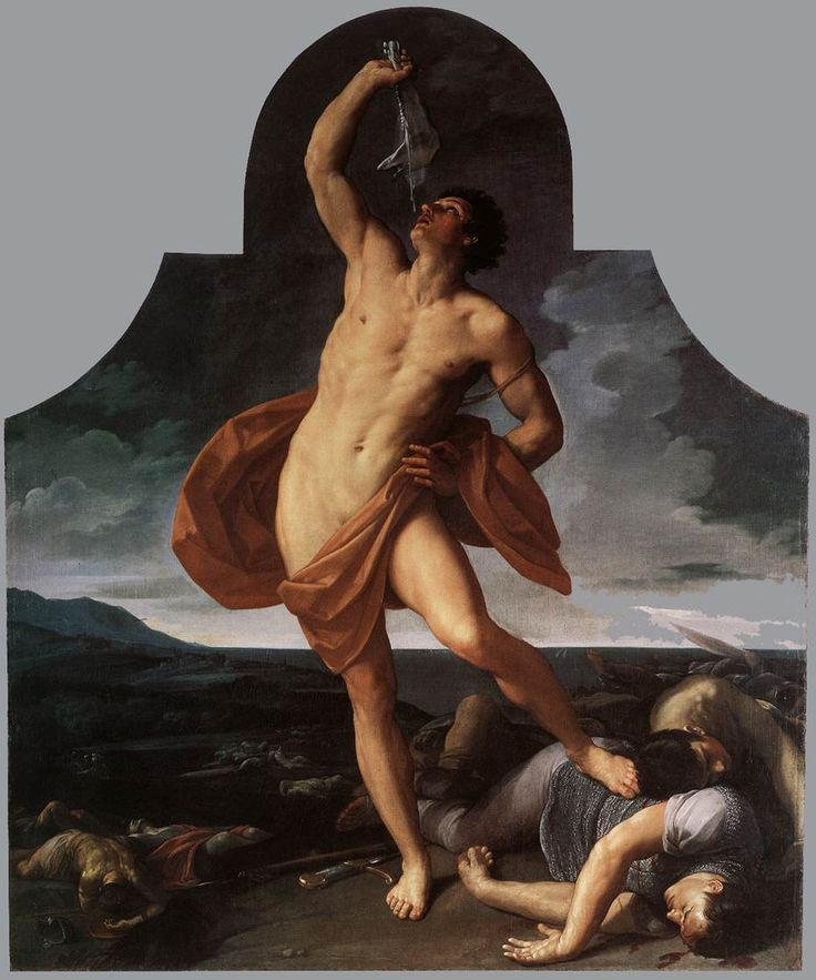 Guido Reni, The Triumph of Samson, 1611-1612, oil on canvas, Pinacoteca Nazionale, Bologna