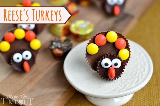 Reese's Turkeys - Mom On Timeout