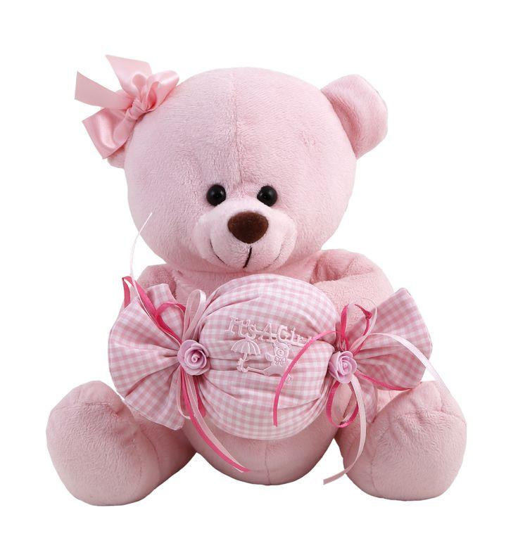#soft #romantic #teddy_bear #baby #pink #love