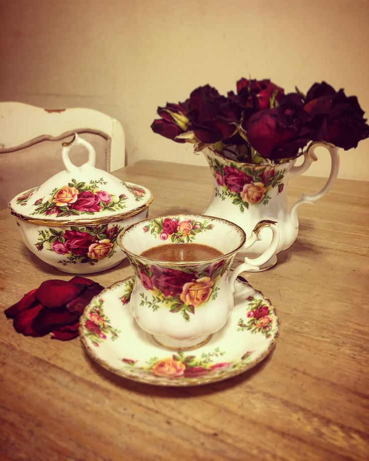 Royal Albert Old Country Roses ❤️🌹