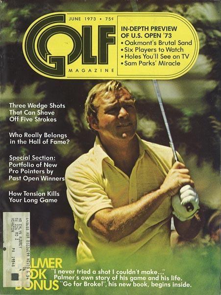 Arnold Palmer - GOLF Magazine 6/73