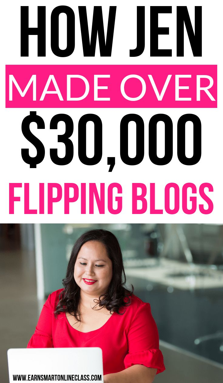 How Jenn Made Over $30,000 Flipping Websites – Brittany Vincente