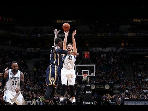 Kevin Love's 42 Points Leads the Timberwolves Over the Pacers (+playlist)