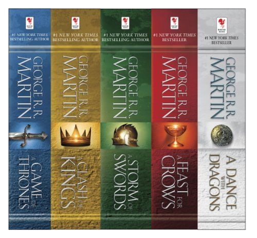AmazonSmile: George R. R. Martin's A Game of Thrones 5-Book Boxed Set (Song of Ice and Fire Series): A Game of Thrones, A Clash of Kings, A Storm of Swords, A Feast for Crows, and A Dance with Dragons eBook: George R.R. Martin: Books