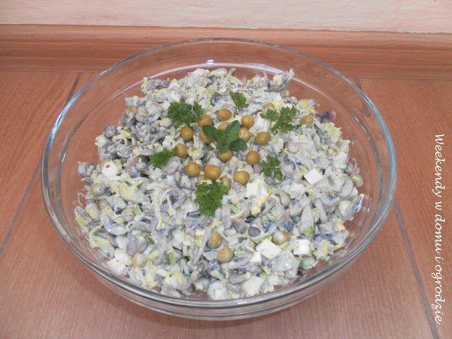 Weekendy w domu i ogrodzie: Pieczarkowa sałatka na Wielką Sobotę lub Wielkanoc