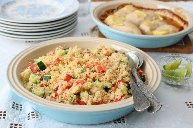 My Little Kitchen | Couscoussalat med kylling - My Little Kitchen