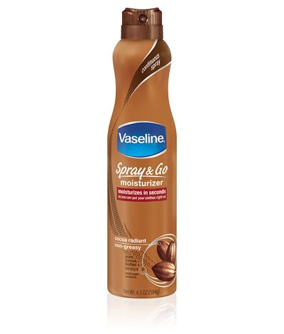 Loved the way this #SprayOnTheGo @Vaseline Dion lotion absorbed into my skin quickly and I cut down the time it takes for me to lotion up. Goodbye ash!