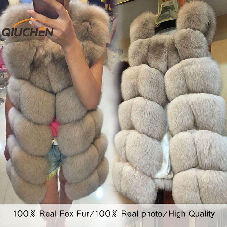 QC8046 GROTE VERKOOP GRATIS VERZENDING alle echte foto 14 kleur in voorraad hot nieuwe natuurlijke vossenbont lange vest echt vossenbont gilet winter