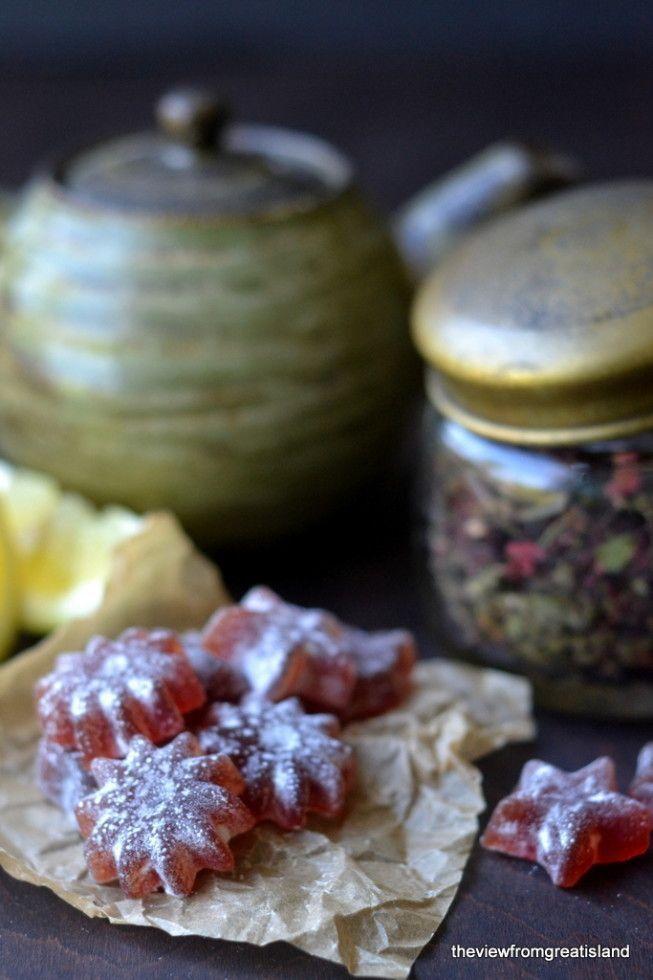DIY Hibiscus and Lemon Cough Drops                                                                                                                                                                                 More