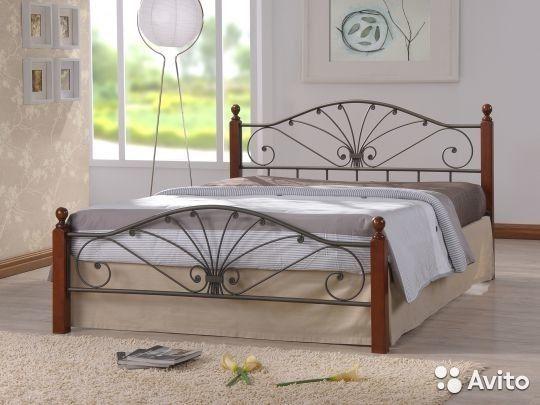 Двухспальные кованные кровати в наличии + подарок