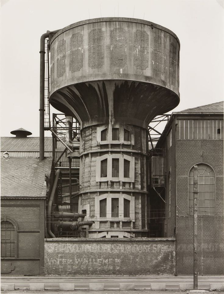 Bernd & Hilla Becher, Water Tower, 1983