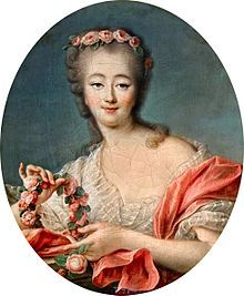 Jeanne Bécu, comtesse du Barry (19 August 1743 – 8 December 1793) was the last Maîtresse-en-titre of Louis XV of France and one of the victims of the Reign of Terror during the French Revolution.[1][2]