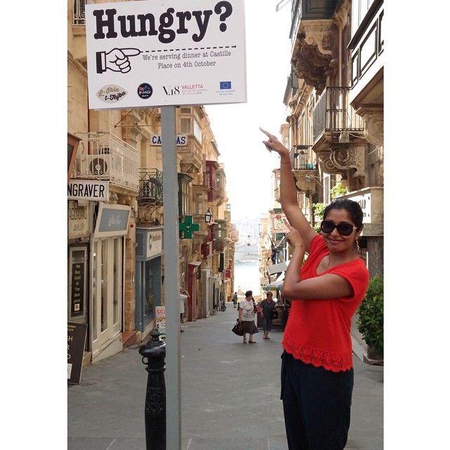 An obvious answer...seen in Valetta, Malta