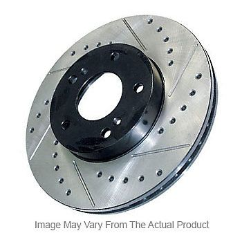 SportStop Cross-drilled And Slotted Rotors From Centric