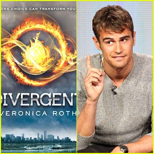 Theo James cast as Four/Tobias in the Divergent Movie!!!