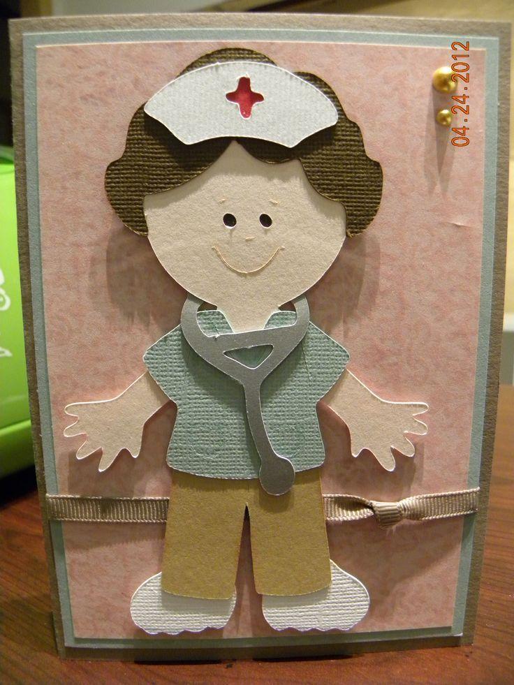 Сделать открытку, скрапбукинг открытки медсестре