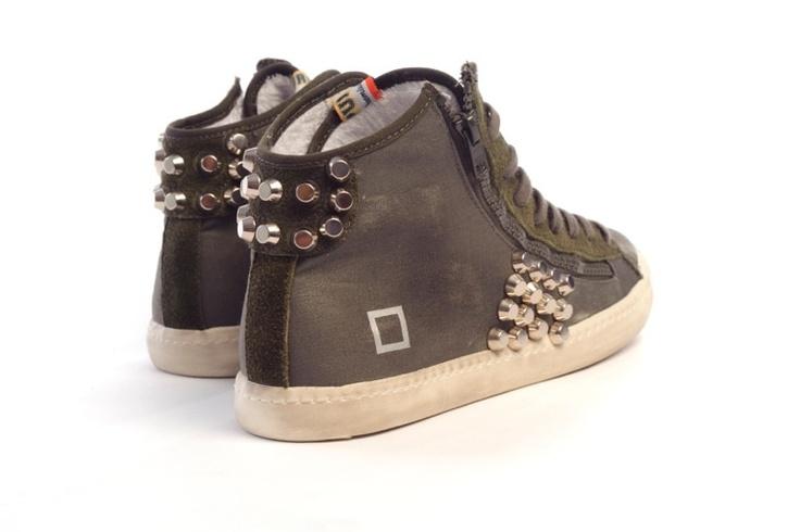 D.a.t.e. Sneakers borchiate da maltese lab!! Che ne dite?? Solo su www.ilmalteselab.com