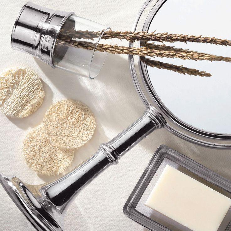 Specchio da bagno, cm Ø20xh40 - collezione: Vanità. Cosi Tabellini.