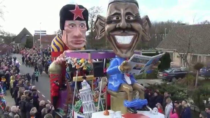 Carnavalsoptocht Zwaag 2016