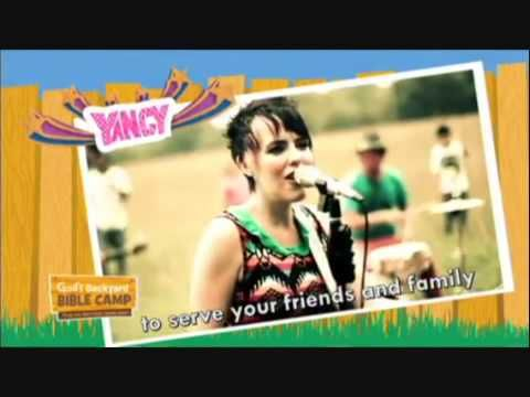 "VBS 2013 Songs: God's Backyard Bible Camp ""Go Serve Our World"" THEME - YouTube"