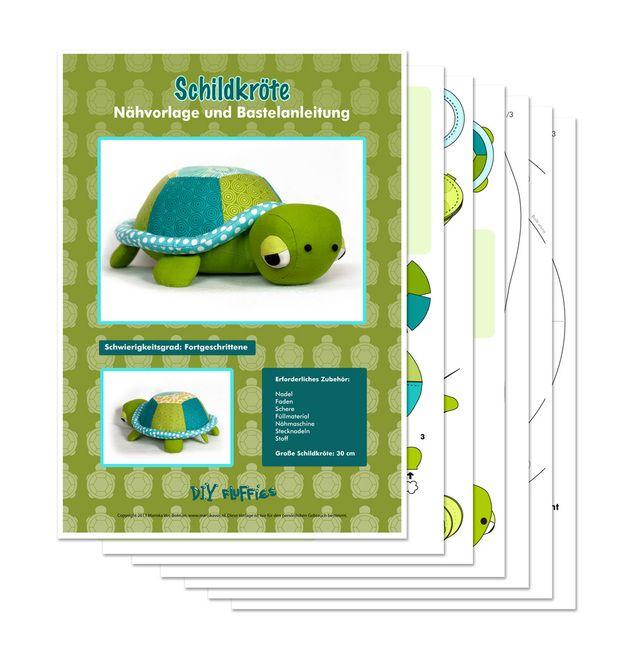 Weiteres - Schild Anleitung PDF Stofftier nähen Schnittmuster - ein Designerstück von Mariska bei DaWanda