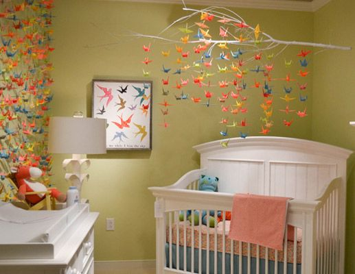 gender neutral nurseries crane mobile be cool and nursery ideas