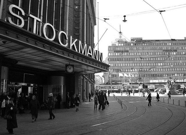 Why this pin? Stockmann, established in 1862, is the biggest department store in the entire Nordic countries and a famous landmark of Helsinki - it's kind of Harrod's East.  Stockmann offers a uniquely extensive and high-quality product range in an inspiring shopping environment that I must appreciate and admire --- whenever I can choose, I go shopping there.