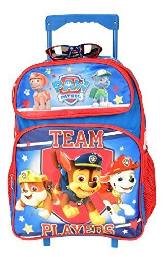 Paw Patrol Ready For Action Full Size Kids Rolling Backpack (16in). #Patrol #Ready #Action #Full #Size #Kids #Rolling #Backpack #(in)