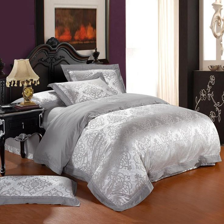 Comforter Silvers: 1000+ Ideas About Silver Bedding On Pinterest