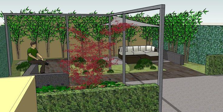 17 beste idee n over hoek pergola op pinterest privacy in de tuin privacyschutting - Deco gezellige lounge ...
