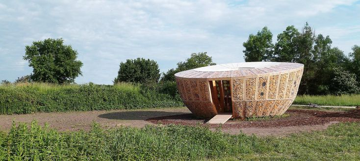 Built by StAndré-Lang Architectes in Muttersholtz, France Winning project of the Archi<20 competition and with a 7000€ budget, this 20 sqm housing prototype has been constr...