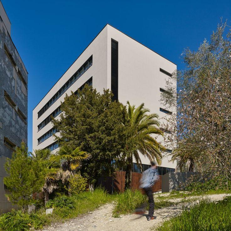 Réhabilitation bâtiment Fizeau, Parc Valrose, Laboratoires Astrophysique et bureaux (D Boy de la tour photos)