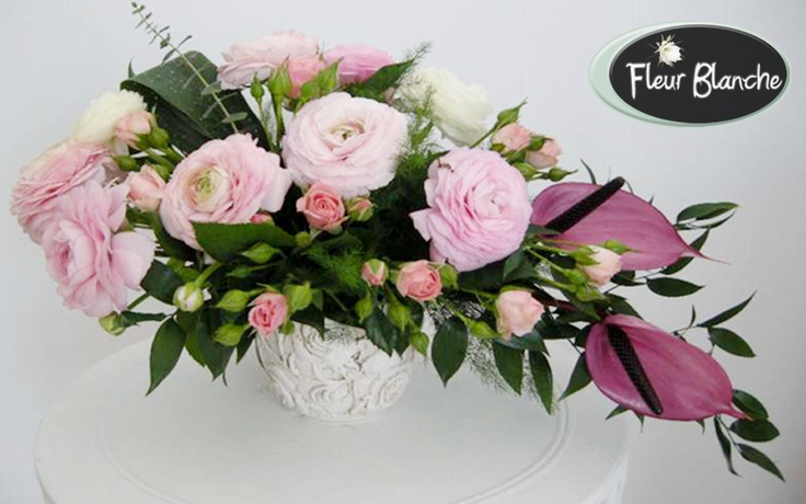 Symphonie de Fleurs - simfonie de culoare si prospetime la nunta ta  http://www.florariafleurblanche.ro/produs/symphonie-de-fleurs