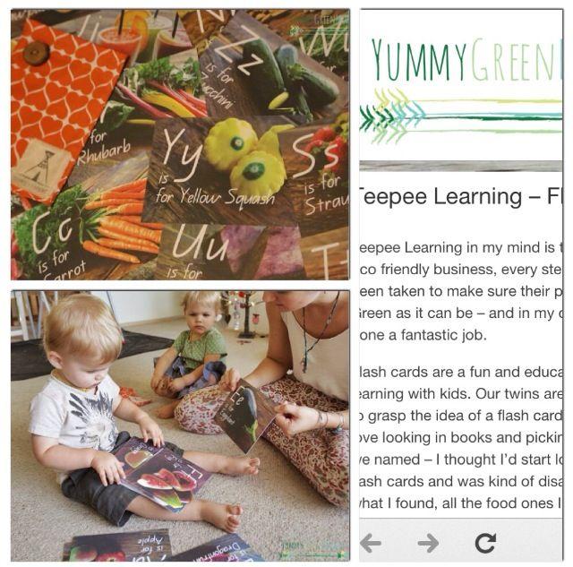 Feature on blog - Yummy Green Mummy.